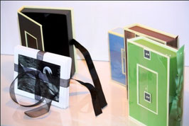 Emballage double 2 boîtes avec 6 cartes de souhaits par boîte