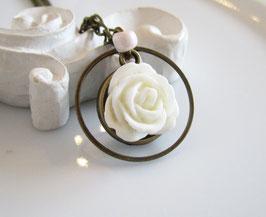 Kette rosa, weiß ♥ Romantik ♥