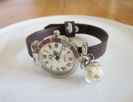 Armbanduhr ♥ weiße Blüten ♥