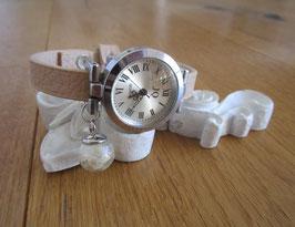 Armbanduhr ♥ Pusteblume und Blattgold ♥