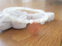 Armband ♥ rose goldenes Mandala ♥