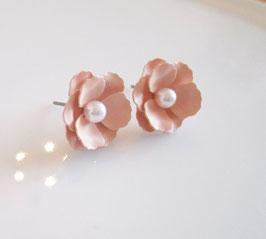 Ohrstecker  ♥ rosa Blüten  ♥