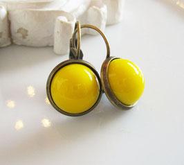 Ohrringe  ♥ gelb ♥