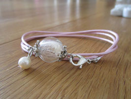 Armband ♥ Pusteblume rosa ♥