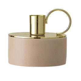 Kerzenhalter rosa, gold