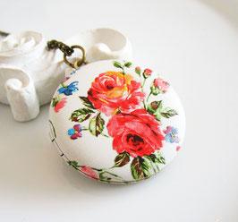 Medaillon ♥ Blüten ♥