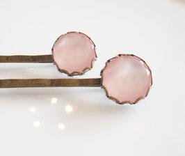 Haarspangen - Set ♥ rosa Traum ♥