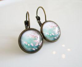 Ohrringe ♥ Blütenzweig ♥