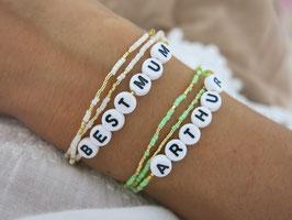 Personnalisez votre bracelet (3 tours)