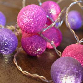 Leuchtkugeln (Lavendel)