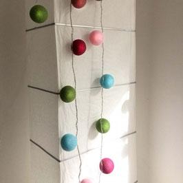 Leuchtkugeln (blau-grün-pink)
