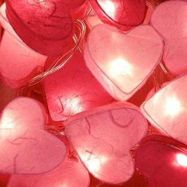 Herzkette (pink)