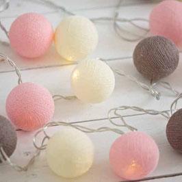 Leuchtkugeln (pink-schwarz-weiss)