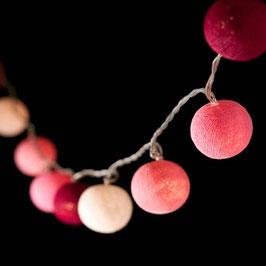 Leuchtkugeln (pink)