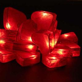 Herzkette (rot)