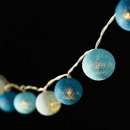 Leuchtkugeln (blau)