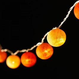 Leuchtkugeln (orange)