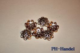 Perlenkappe Blume