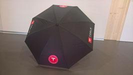 Inside-out STOC-Regenschirm mit Logo-Aufdruck und Verschlussband