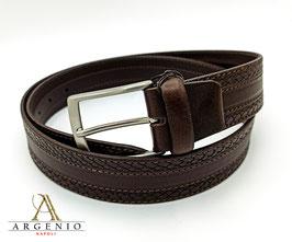 Cintura treccia Marrone v.2