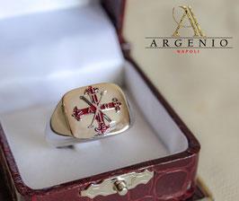 Anello Croce Costantiniana