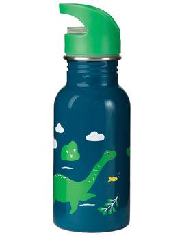 """trinkflasche """"nessie"""" in dunkelblau von frugi"""