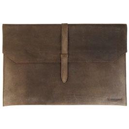 ANGEBOT: Laptop-Hülle / Notebook-Schutzhülle (15 Zoll) -  Öko-Leder