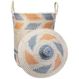 NEU: Wäschekorb °Race° aus Seegras mit Tragegriffen - 2 Größen