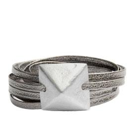 Unisex Arm Wrap °Rock n´Roll° - Metallic Zinn