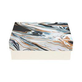 Papierbox  °Blue Marble° - groß