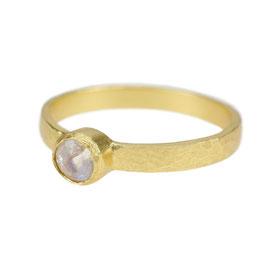 Ring °Moon° - Gold / Mondstein