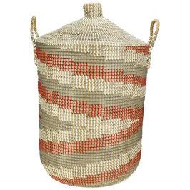 Wäschekorb °Desert° aus Seegras mit Tragegriffen - 2 Größen