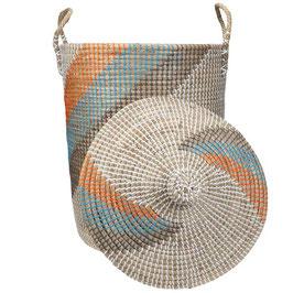 NEU: Wäschekorb °Calima° aus Seegras mit Tragegriffen - 2 Größen
