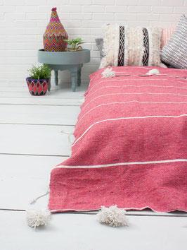 Plaid °Stripe°  - 100 % Baumwolle - Pink