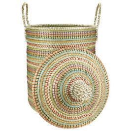 NEU: Wäschekorb °Ghibli° aus Seegras mit Tragegriffen - 2 Größen