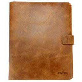 Briefcase, Aktenmappe °Vintage° aus Rindsleder
