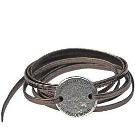 Unisex: Arm Wrap °Storyteller° - Metallic Zinn