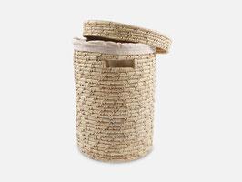 NEU: Wäschekorb °Oase° mit Deckel + Baumwollbeutel