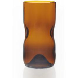 Design-Gläser aus Upcycling im Set - Amber