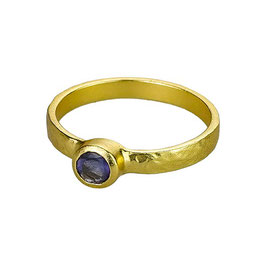 Ring °Deep Sea° - Gold / Lolith