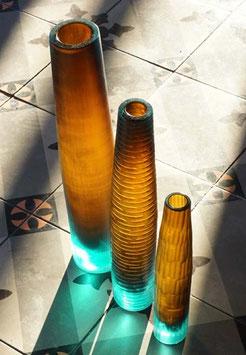 Vase Floresoli aus Altglas