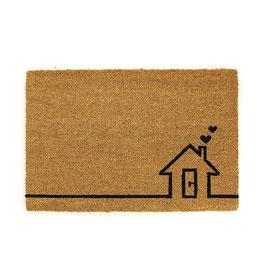 Fußmatte °Sweet Home° - Kokosfaser