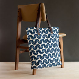 Oversize Bag °Triangle° - Blau