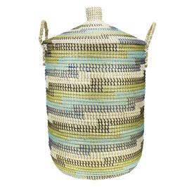NEU: Wäschekorb °Malindi° aus Seegras mit Tragegriffen - 2 Größen