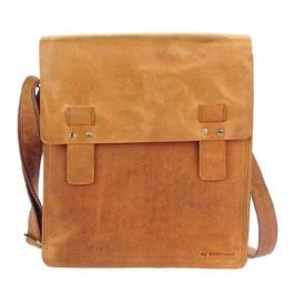 Hochwertige College Bag -  Farbe Camel