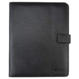Briefcase, Aktenmappe °Black° aus weichem Nappaleder