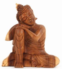 Entspannter °Buddha° aus Holz