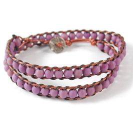 Wickelarmband °Seeds° - Lavendel