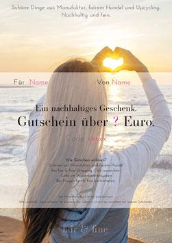 Gutschein °Heart & Hands° (pdf)