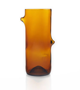 Design-Vase aus Upcycling - Amber